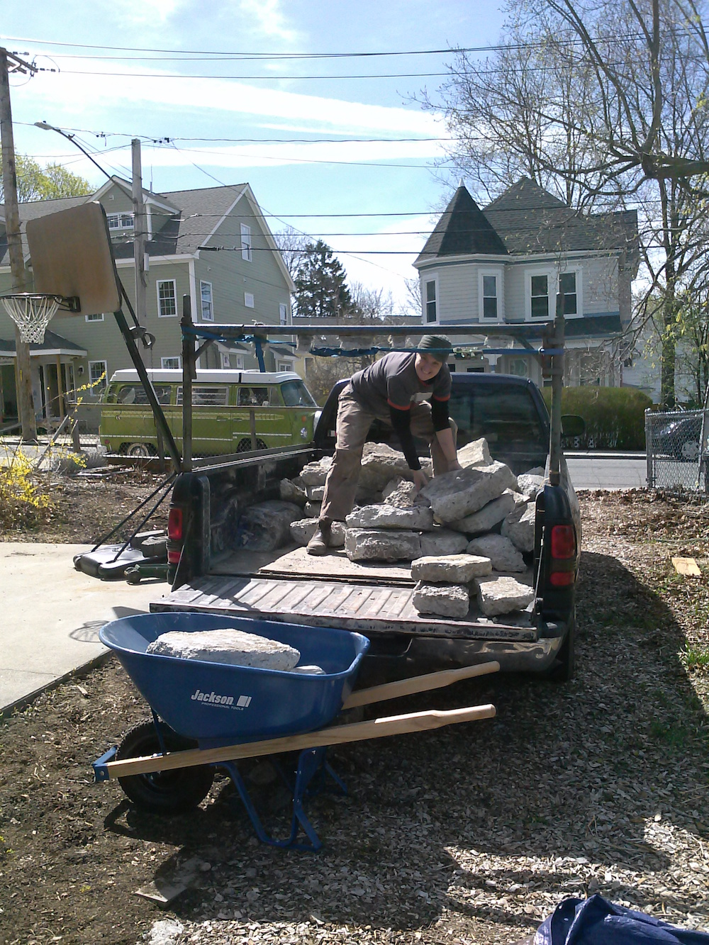 jpgreenhouse recycled materials hardscape